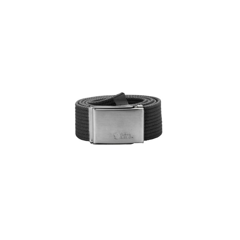 Canvas Belt - Dark Grey
