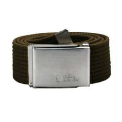 Canvas Belt - Dark Olive