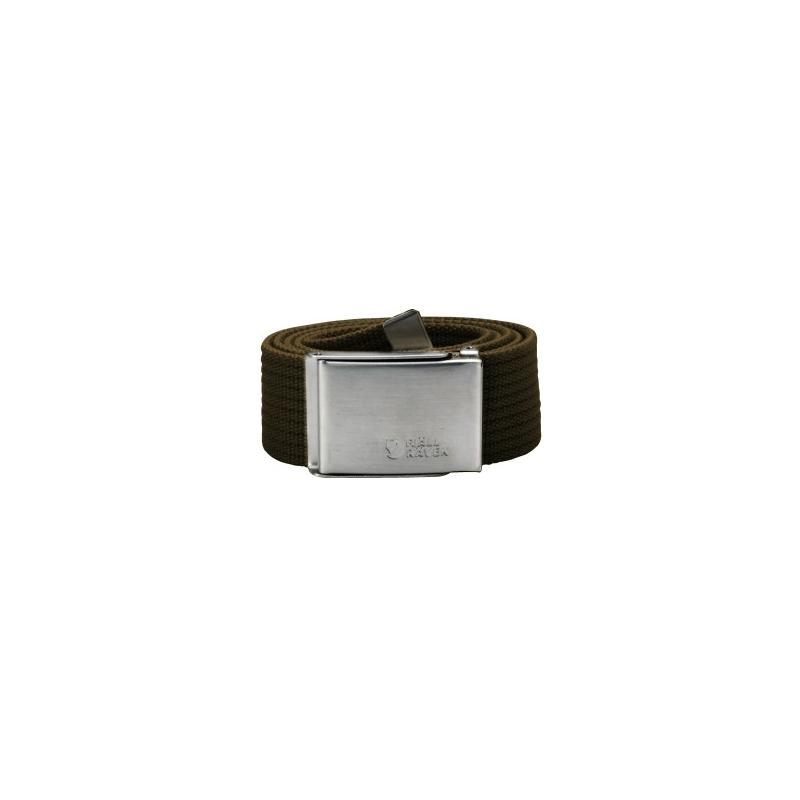 Canvas Belt - Dark Olive