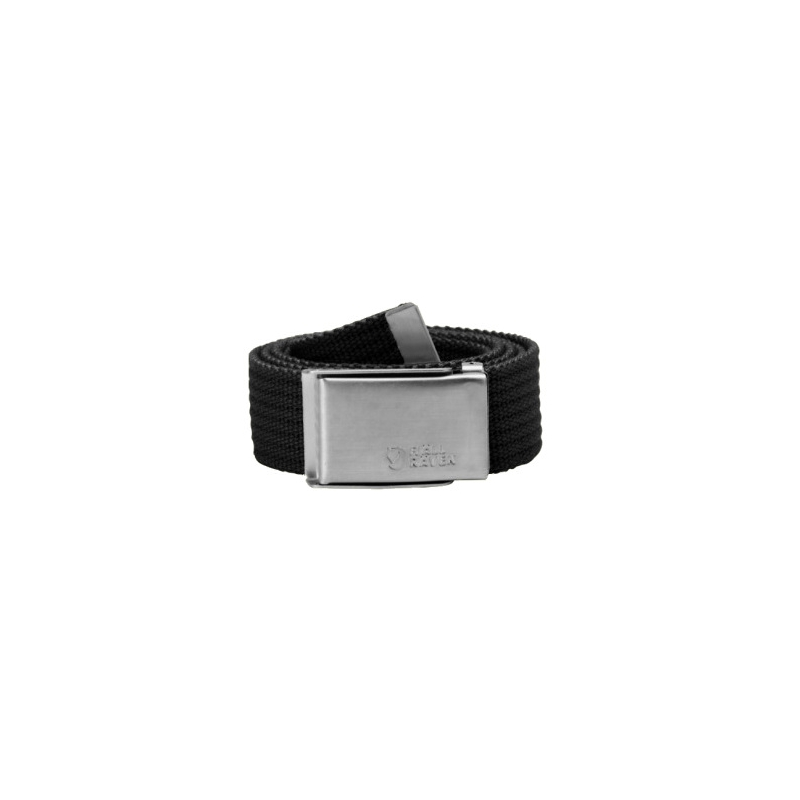 Merano Canvas Belt - Black