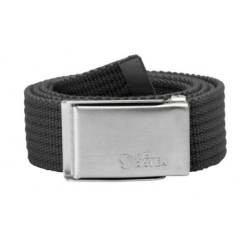 Merano Canvas Belt - Dark Grey