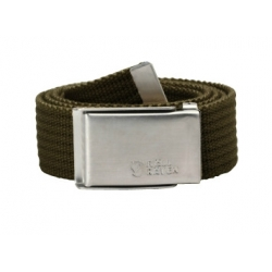 Merano Canvas Belt - Dark Olive