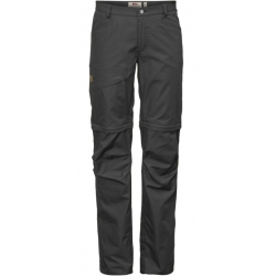 W Daloa Shade Zip-Off Trousers-Dark Grey