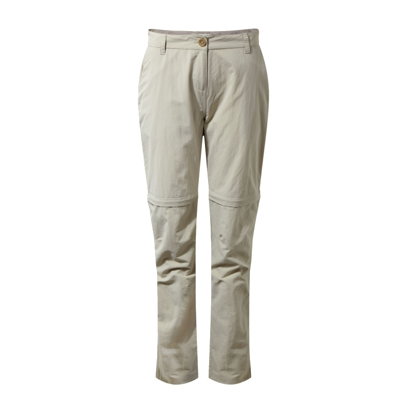 W NosiLife Zip Off Trousers - Desert San