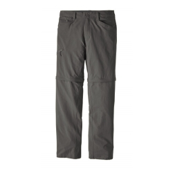 Quandary Convertible Pants - Forge Grey