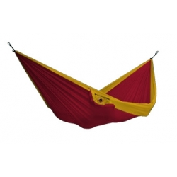 Hamac Single - Burgundy / Dark Yellow