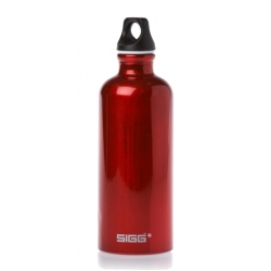 Traveller Bottles 0.6l Red