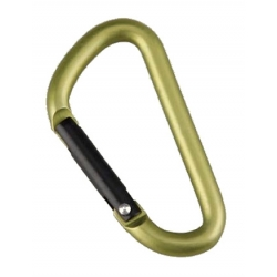 Carabiner D-Shape 50mm - 2pcs