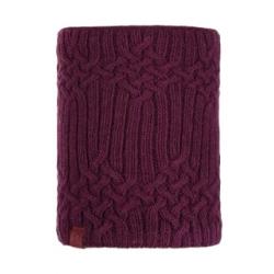 Knitted&Polar Neckwarmer Helle Wine
