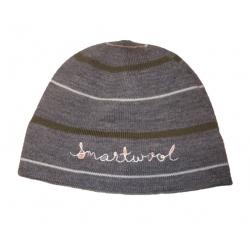 Striped Lid - Medium Gray Heather
