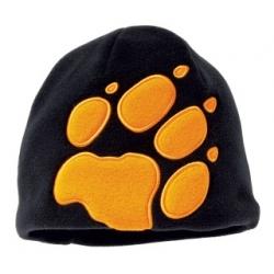 K Front Paw Hat - Black