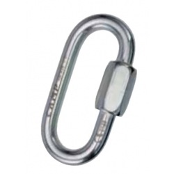 Oval quick link Inox 8 mm