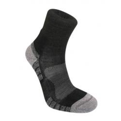 Hike LW MerinoPerf Ankle - Black/Silver