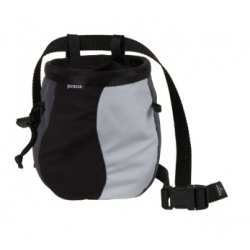 Geo Chalk Bag with Belt - Charcoal