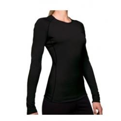W Bodyfit 200 Oasis LS Crewe - Black