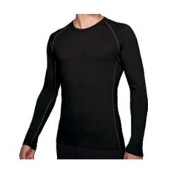 Bodyfit 200 LS Oasis Crewe - Black