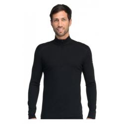 Bodyfit 200 Oasis LS Half Zip - Black
