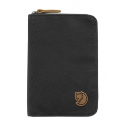 Passport Wallet - Dark Grey