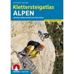 Klettersteigatlas Alpen Select