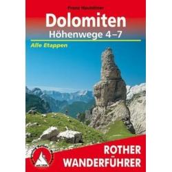 Dolomiten Hohenwege 4-7 Special