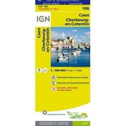 Caen / Cherbourg-Octeville 1:100.000 106