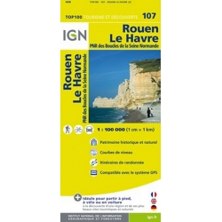 Rouen / Le Havre 1:100.000 - 107