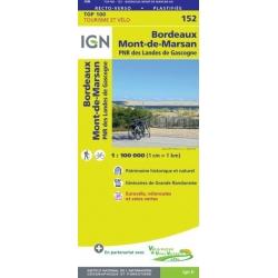 Bordeaux / Mont-de-Marsan 1:100.000 152