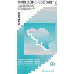 Middelkerke / Oostende  1/20.000  12/1-2
