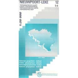 Nieuwpoort-Leke  1/20.000  12/5-6