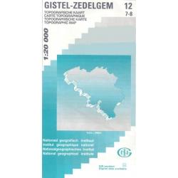 Gistel - Zedelgem  1/20.000  12/7-8