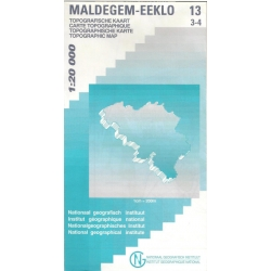 Maldegem-Eeklo 1/20.000 13/3-4