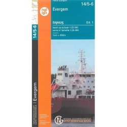 Evergem/Lochristi 1/20.000 14/5-6