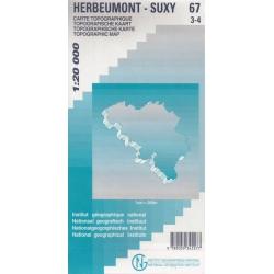Herbeumont/Suxy 1/20.000...