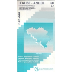 Leglise/Anlier 1/20.000...