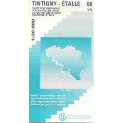 Tintigny/Etalle 1/20.000...