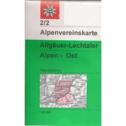 Allgauer-Lechtaler Alpen Oost  02/2