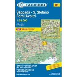 Sappada 01 San Stefano 1/25.000