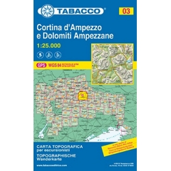 Cortina d Ampezzo  03 1/25.000