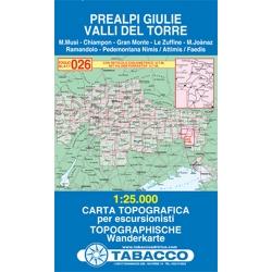 Prealpi Giulie  1/25.000