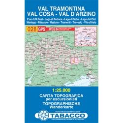 Val Tramontina  1/25.000