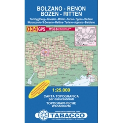 Bolzano-Renon/Bozen 1/25.000