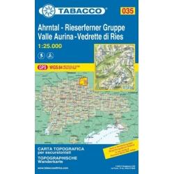 Valle Aurina 035  1/25.000