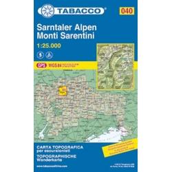Monti Sarentini  1/25.000