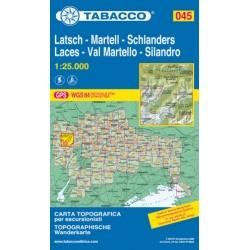 Laces/Val Martello/Silandro 045 1/25000