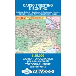 Carso Triestino e Isontino 1/25.000