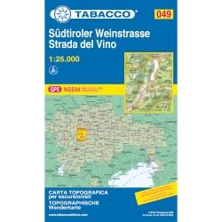 Sudtiroler Weinstrasse 1/25.000 *08