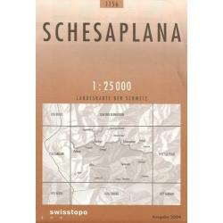 Schesaplana 1156  1/25.000