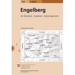 Engelberg 1191  1/25.000
