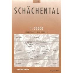 Schachental 1192  1/25.000