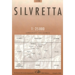 Silvretta  1198  1/25.000